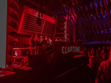 Dj Claptone playing a set in Germany,Parookaville