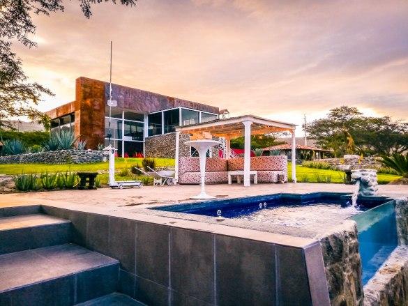 """The hotel """"Tunas y Cabras"""" in Ecuador"""