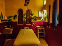 massage room at the Alisei Hotel