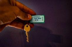 the keys to JFKey Home: Azul Apartment