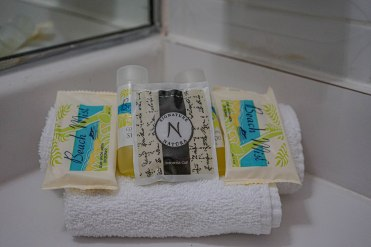 Toiletries at the El Buen Cafe