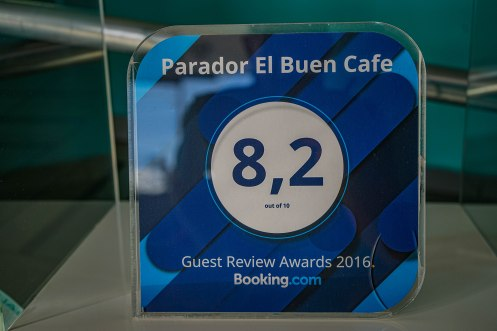 8.2 Booking Review award
