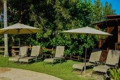 outdoor sittings at the Hacienda EL Jibarito