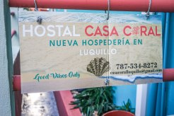 Advertising for Casa Coral in Puerto Rico