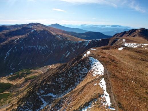 Chornohora Ridge, Carpathian mountains in the Ukraine