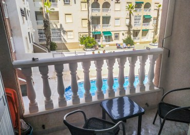 Balcony in an apartment in Torrevieja