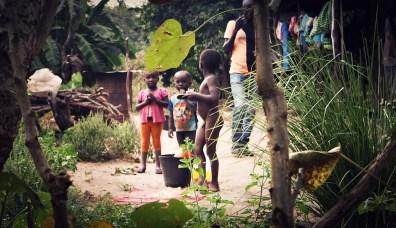 Bissauan children