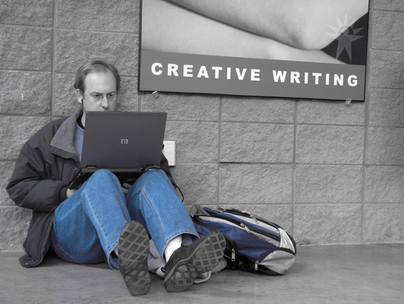 Ten Signs Your Creative Writing Blog Post Might Be a Little TOO Creative