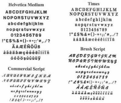 If Font Faces Were Lovers