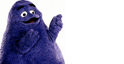 How Grimace Got His Grimace