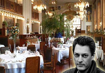 Hello, My Name Is Paul Auster and I'll Be Your Waiter Tonight