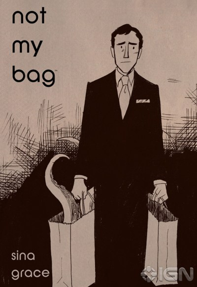 """Comic Book Artist Sina Grace On """"Not My Bag,"""" His First Autobiographical Work"""