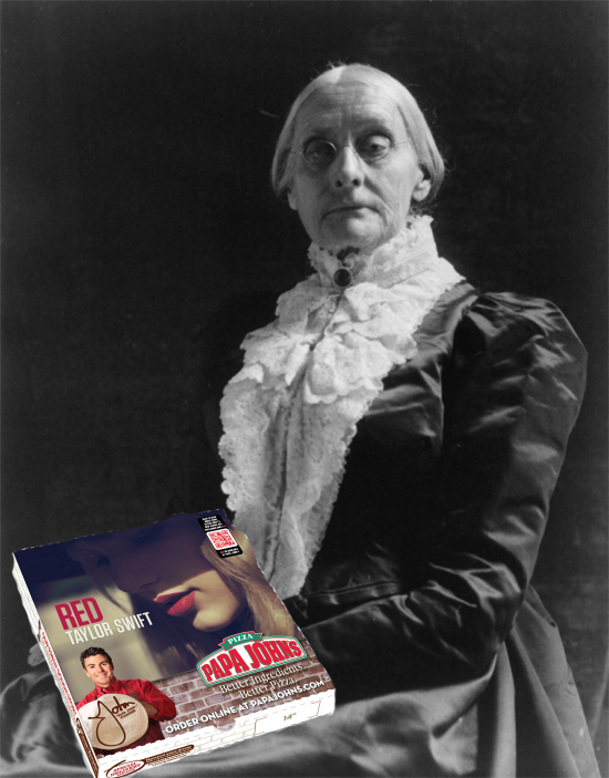 Susan B. Anthony Taylor Swift