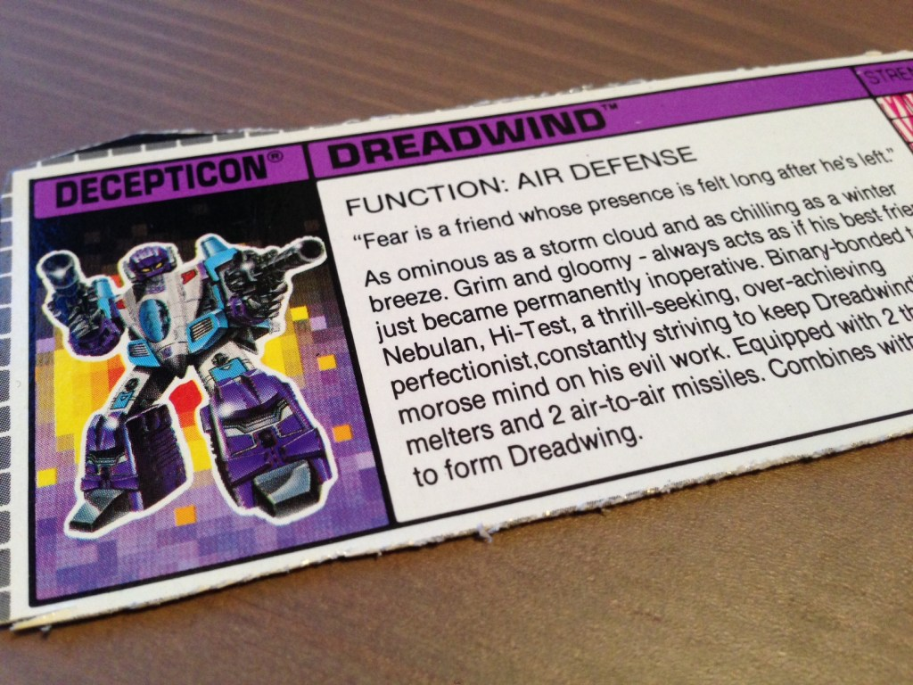 The Wit and Wisdom of Cybertron: Quotations from Transformers boxes