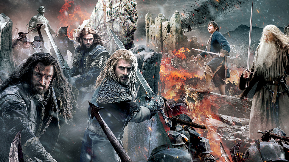"""""""The Hobbit: The Battle of the Five Armies"""" brings Peter Jackson's saga mercifully to a close"""