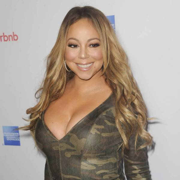 Mariah Carey And Nick Cannon Celebrate Thanksgiving In