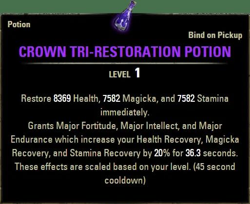 Crown Potion