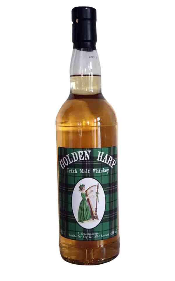Golden Harp Whisky - Irish-malt-40-Vol.-%- thetankcompany-de