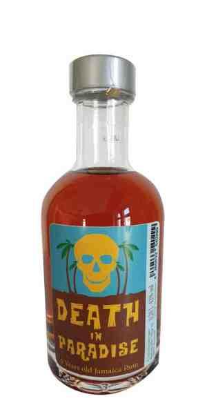 Death in Paradise Rum - 5 Jahre als 0,2l Mini-Tank