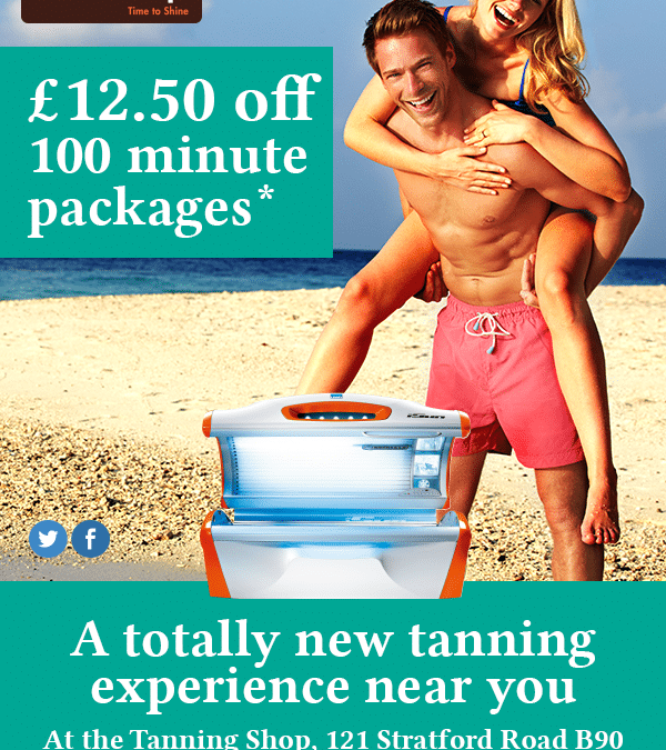 New Equipment Available at The Tanning Shop Shirley!