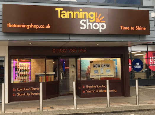 The Tanning Shop Sunbury Cross Is Now Open