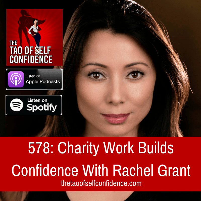 Charity Work Builds Confidence With Rachel Grant