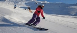 skiing causes foot knee pain