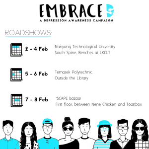 EmbraceD roadshows