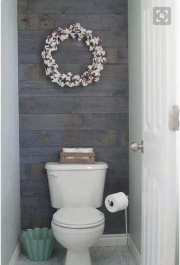 22 Eclectic Ideas Of Bathroom Wall Decor: 41 SHIPLAP Ideas: NOT Just For Walls (Part 2