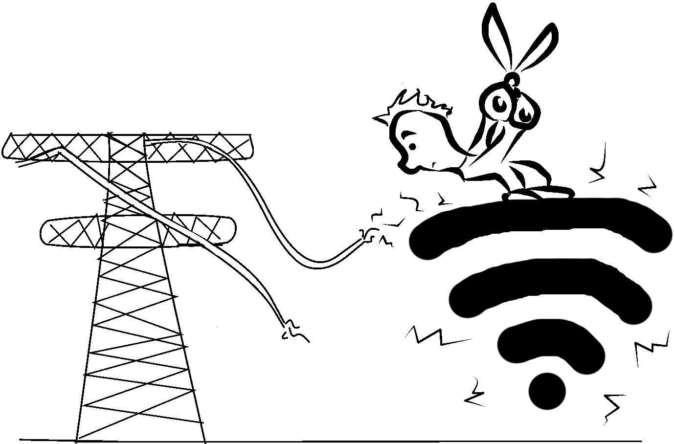 Rectennas Converting Radio Waves Into Electricity