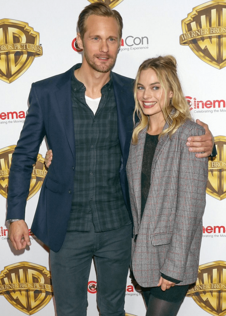 Alexander Skarsgard and Margot Robbie