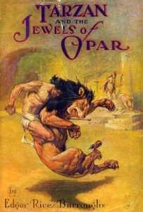 Tarzan Opar Dust Jacket