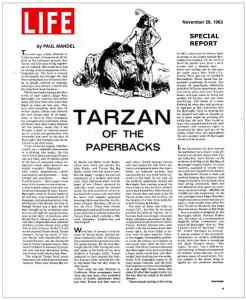 Tarzan of the Paperbacks1