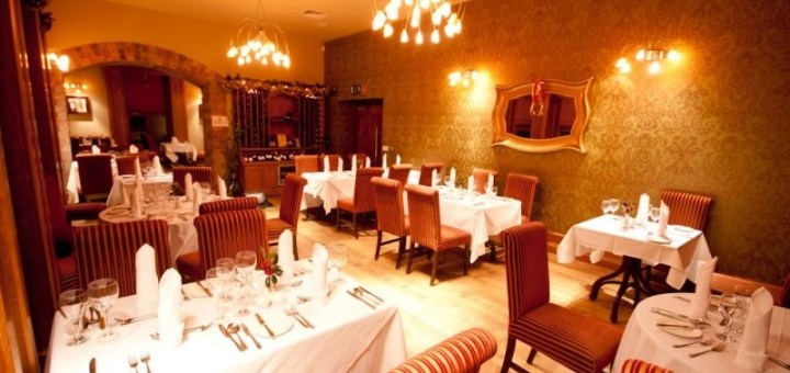 Reynards Restaurant at Errigal Country House Hotel, Co. Cavan