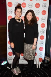 Jo Linehan, Meg Walker at the official launch of Dine in Dublin, returning 23rd Feb - 1st March. See dineindublin.ie for full details.