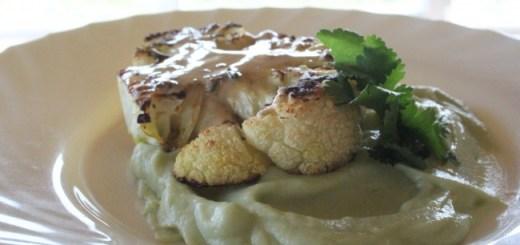 Vegetarian Cauliflower Steak Recipe by Carmel Hall