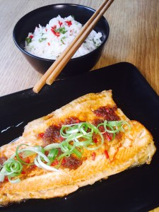 Vietnamese Trout with a Caramel Sauce-1