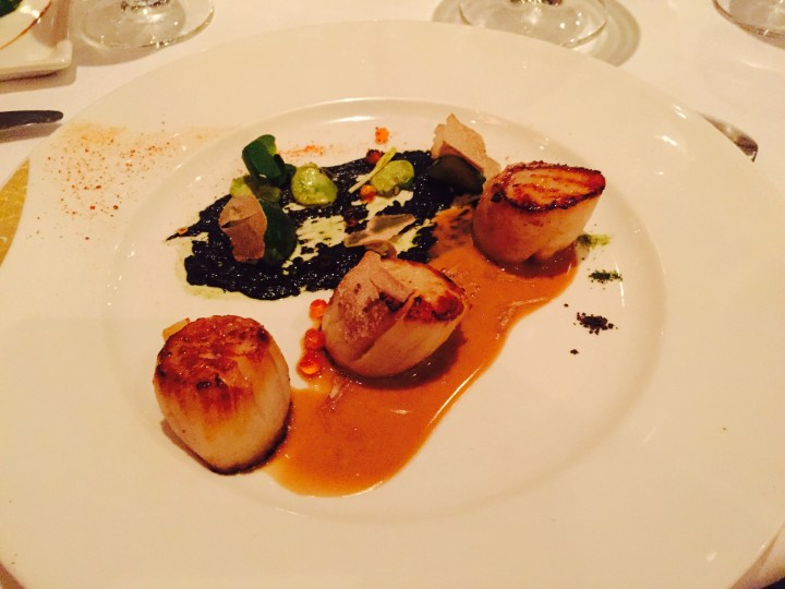 Thornton's Restaurant Scallops