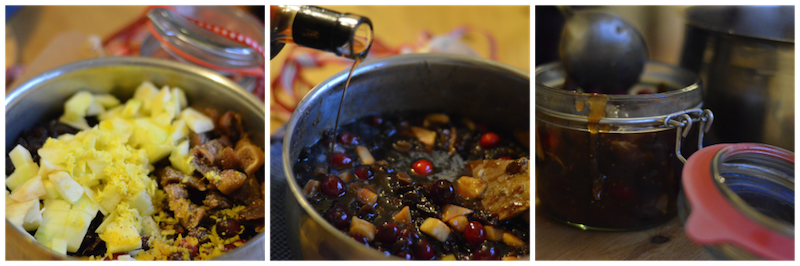 Making the mincemeat