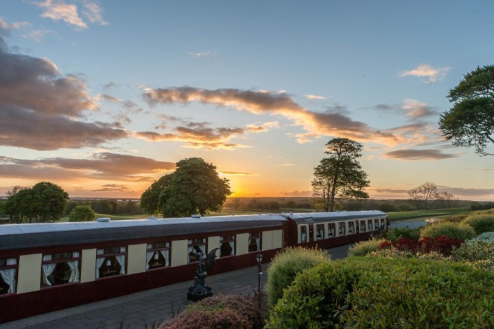Glenlo Abbey Pullman About the Orient Express