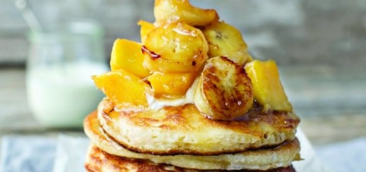 Neven Maguire mango and banana pancakes