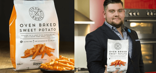 Irish Company Introduces Convenient Sweet Potato Fries Strong Roots