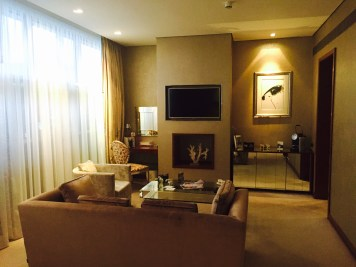 The g Hotel suite
