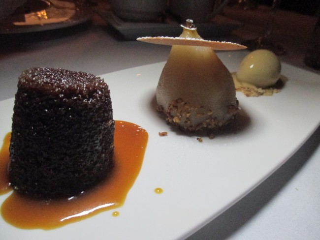 Farenheit Clontarf Castle spiced ginger pudding