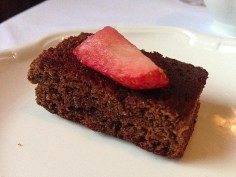 Carton House Spicy Sticky Ginger Cake