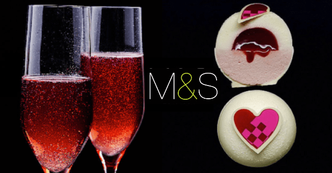 Valentine's Day Dine In Meal for Two at M&S
