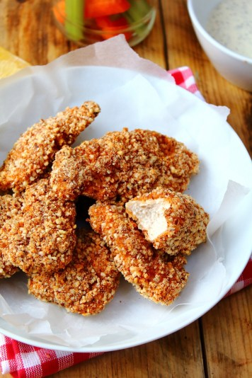 Buffalo Chicken Tenders Recipe by Peachy Palate