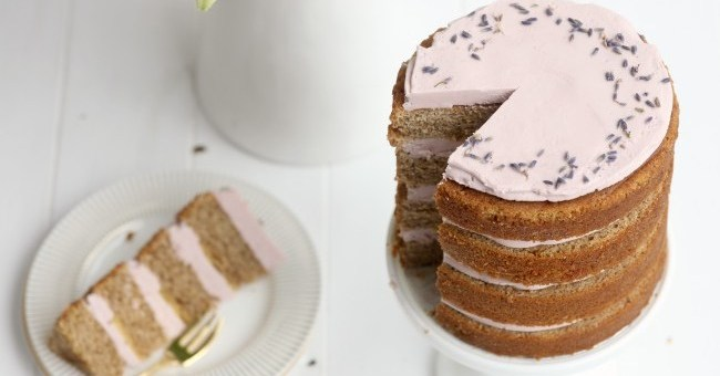 Cove Cake Lavender Earl Grey Tea Cake
