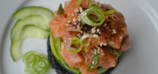 Hawaiian Salmon Poke Recipe My Nutrition