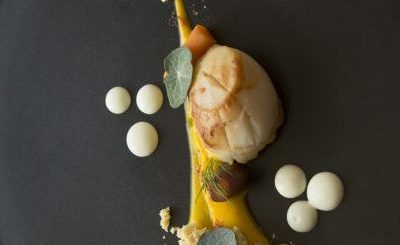 West Coast Scallops dish by Chef John Nagle Dunboyne Castle Hotel